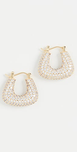 Luv Aj - Pave Tia Gold Hoops
