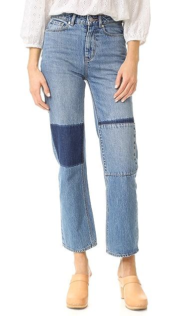 La Vie Rebecca Taylor Amelie Patchwork Jeans