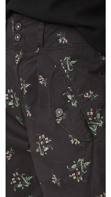 La Vie Rebecca Taylor Floral Odette Pants