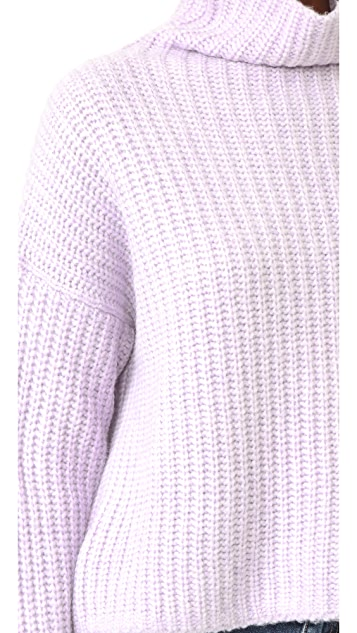 La Vie Rebecca Taylor Turtleneck Sweater