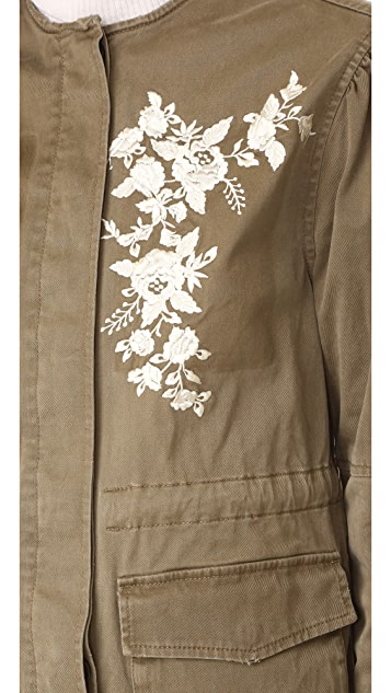 La Vie Rebecca Taylor Embroidered Jacket