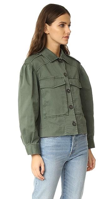 La Vie Rebecca Taylor Luxe Twill Jacket