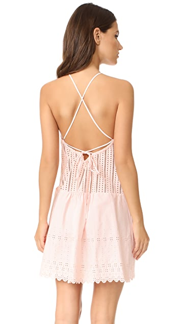 La Vie Rebecca Taylor Celsie Eyelet Dress