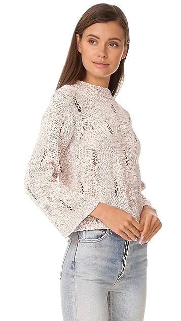 La Vie Rebecca Taylor Summer Ribbon Pullover