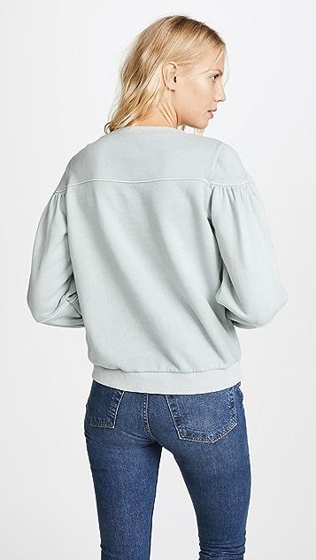 La Vie Rebecca Taylor Long Sleeve Fleece Pullover
