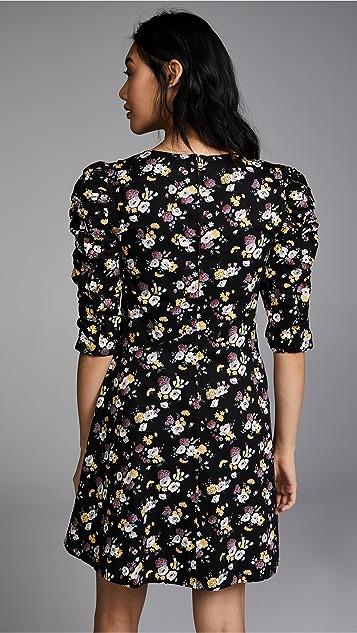 La Vie Rebecca Taylor Long Sleeve Posey Dress