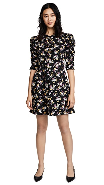 La Vie Rebecca Taylor Long Sleeve Posey Dress
