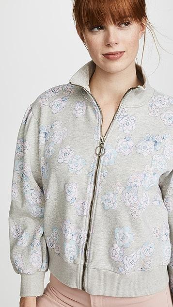La Vie Rebecca Taylor Fabnne Fleece Jacket