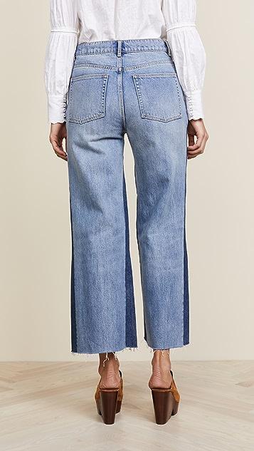 La Vie Rebecca Taylor Wide Leg Jeans