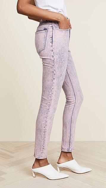 La Vie Rebecca Taylor Ines Pink Acid Jeans