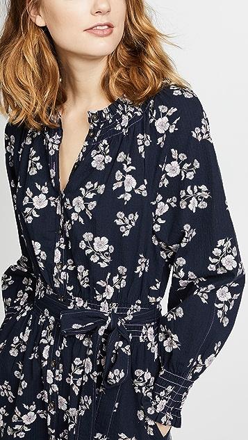 La Vie Rebecca Taylor Long Sleeve Camille Dress