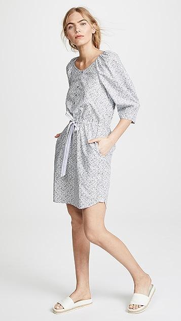 a944cb331e4ec ... La Vie Rebecca Taylor Long Sleeve Meadow Floral Dress ...