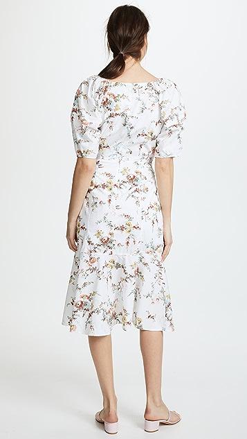 La Vie Rebecca Taylor Short Sleeve Belle Pop Dress