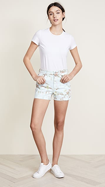 La Vie Rebecca Taylor Belle Denim Shorts