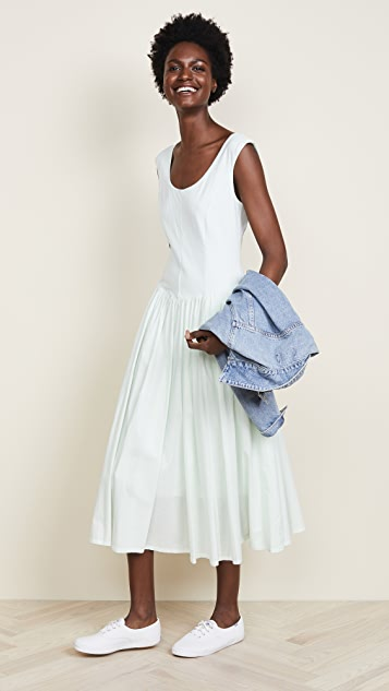 La Vie Rebecca Taylor Voile Jersey Dress
