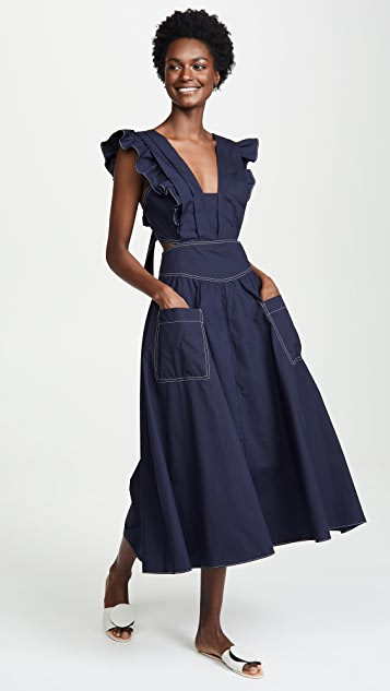 La Vie Rebecca Taylor Poplin Dress