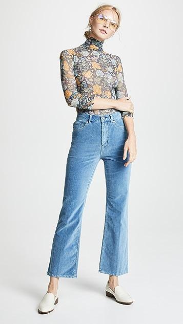La Vie Rebecca Taylor Velveteen Jeans