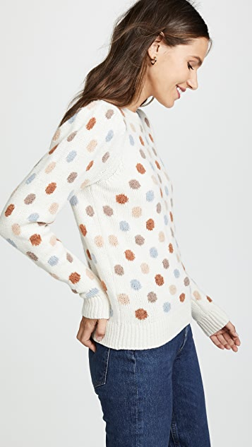 La Vie Rebecca Taylor Jacquard Sweater