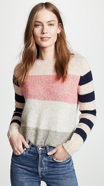 La Vie Rebecca Taylor Striped Pullover