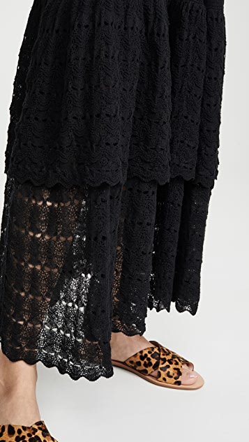 La Vie Rebecca Taylor Sleeveless Lace Dress