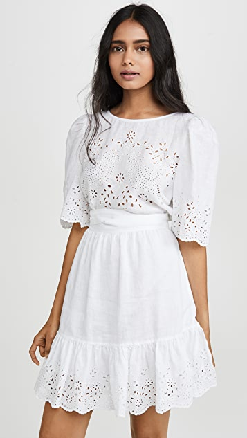 Short Sleeve Sarcelle Dress by La Vie Rebecca Taylor
