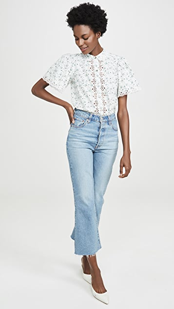 La Vie Rebecca Taylor Poppy Fields Top