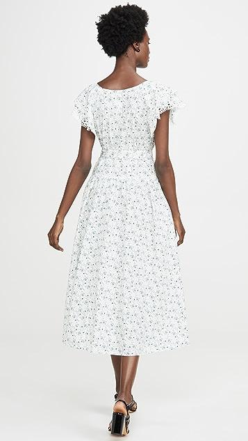 La Vie Rebecca Taylor 罂粟花园连衣裙