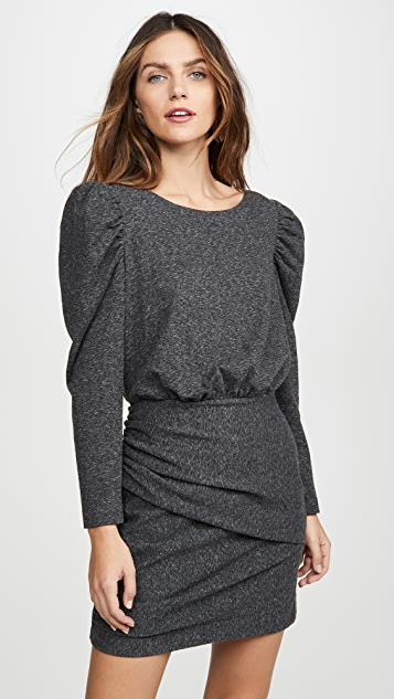 La Vie Rebecca Taylor Long Sleeve French Terry Dress