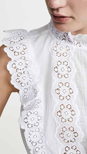La Vie Rebecca Taylor Блуза Cendrine без рукавов