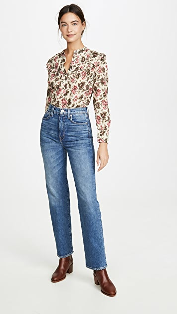 La Vie Rebecca Taylor Long Sleeve Chouette Top