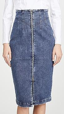 Dry Indigo Skirt