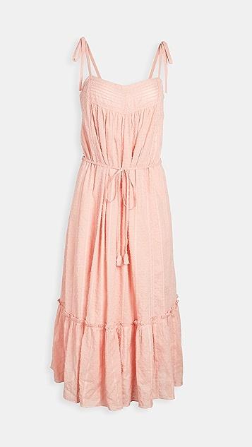 La Vie Rebecca Taylor Sleeveles Clip Dress