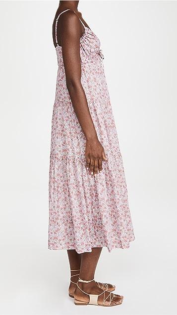 La Vie Rebecca Taylor Sleeveless Eva Floral Dress