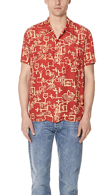 4974da8d Levi's Vintage Clothing 1940s Hawaiian Shirt | EAST DANE