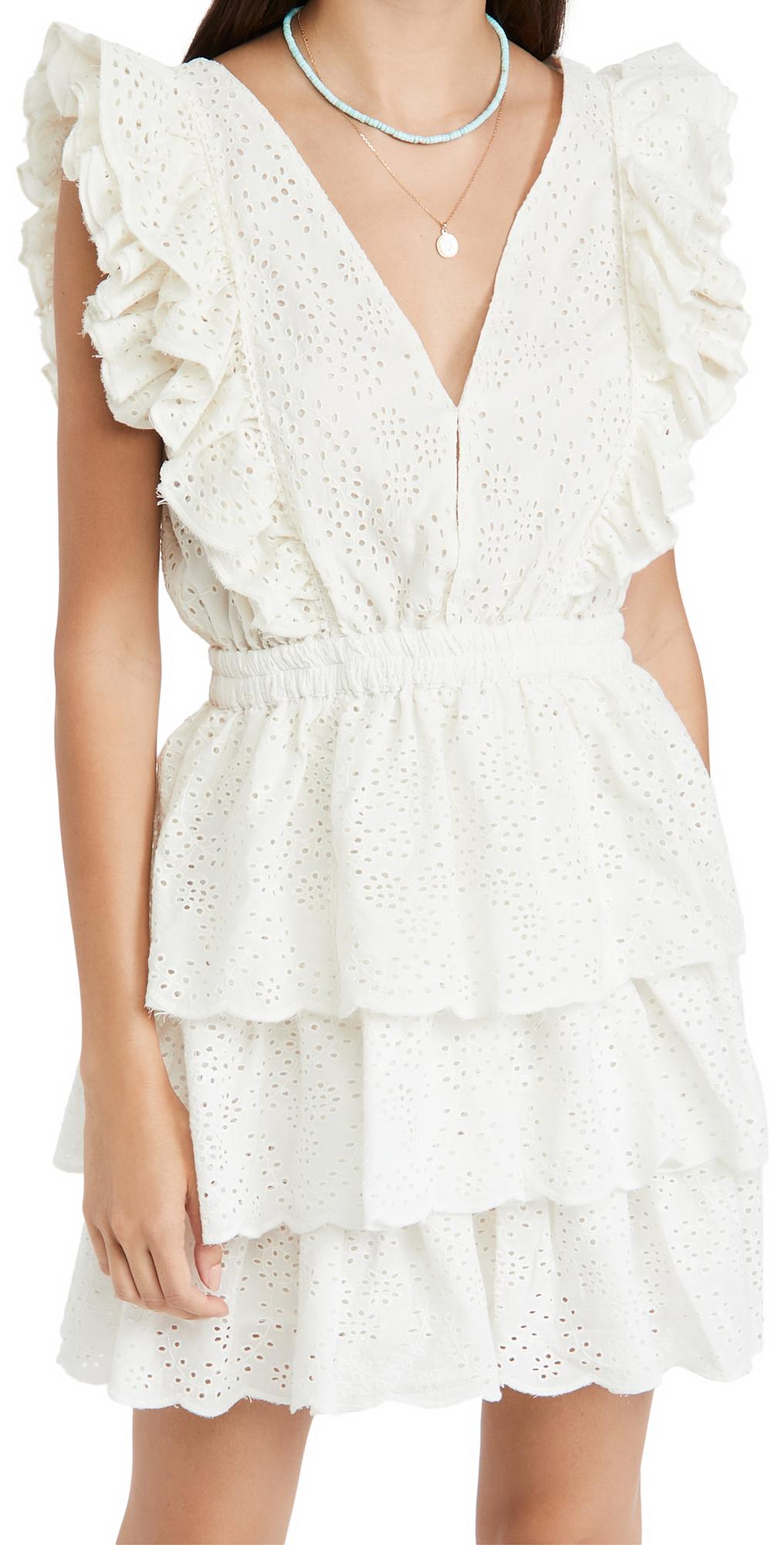 Ruffle Tiered Mini Dress