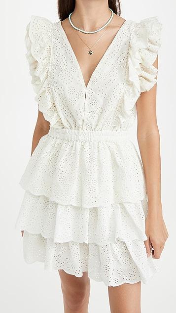 Love The Label Ruffle Tiered Mini Dress