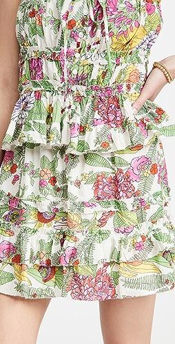 Love The Label - Ruffle Tiered Miniskirt