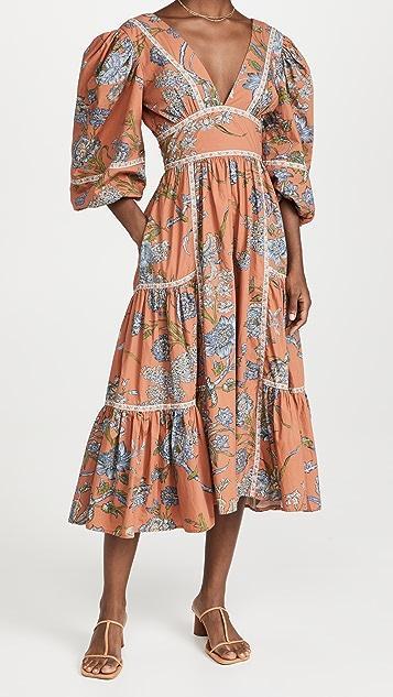 Love The Label Empire Waist Midi Dress