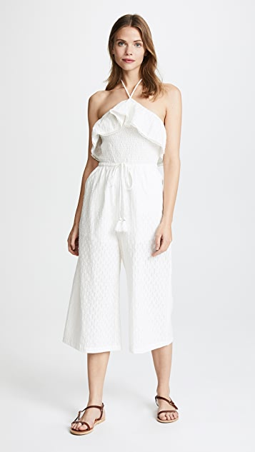 Lost + Wander Coco Jumpsuit - White