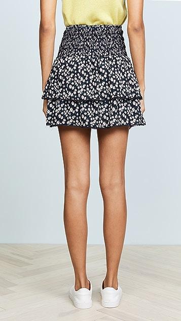 Lost + Wander Araceli Ruffle Miniskirt
