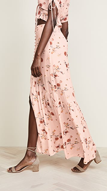 Lost + Wander Rosa Maxi Skirt