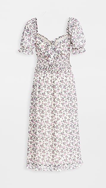 Lost + Wander Garden Party Midi Dress