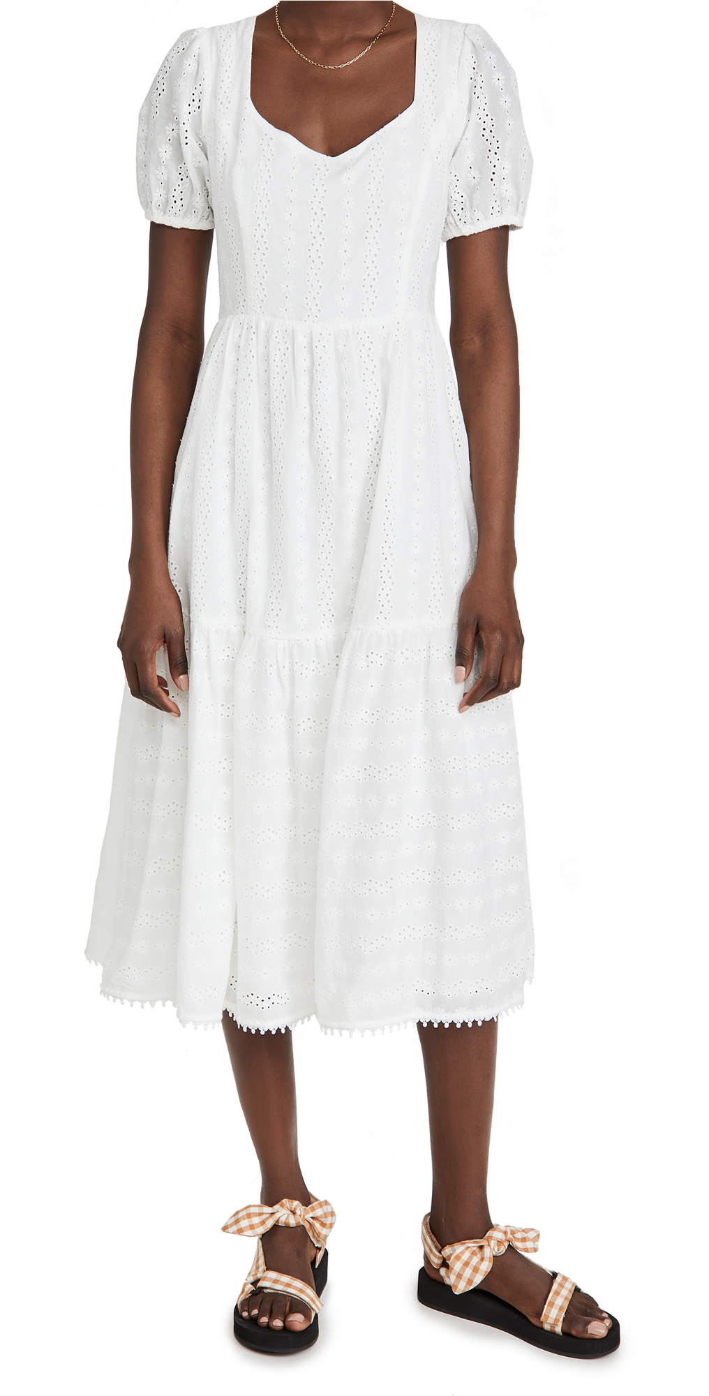 Lost + Wander MIDDLE OF NOWHERE MIDI DRESS
