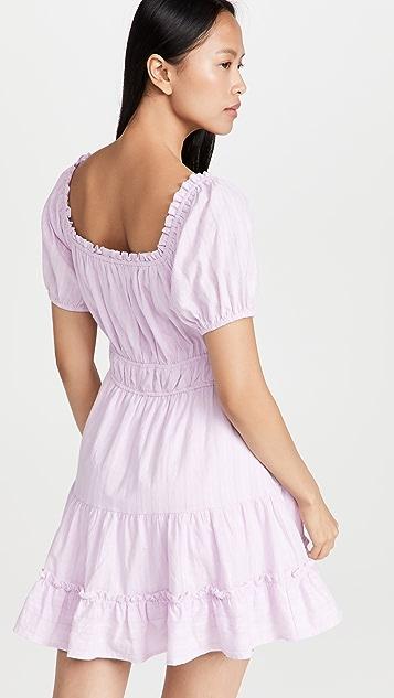 Lost + Wander Lilac Mini Dress