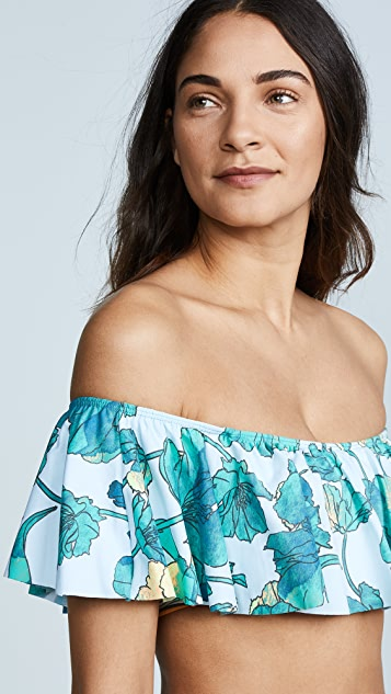 Maaji Blossom Coquette Off the Shoulder Top
