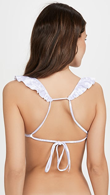 Maaji Little Lilly Lilac Bikini Top
