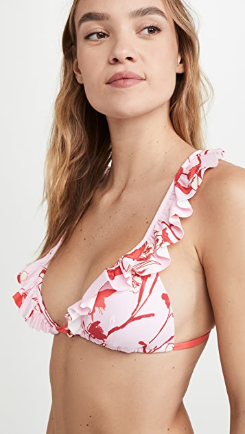 Maaji Songs Triangle Bikini Top