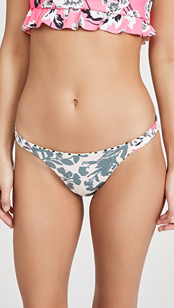 Maaji Festival Split Strap Bikini Bottoms