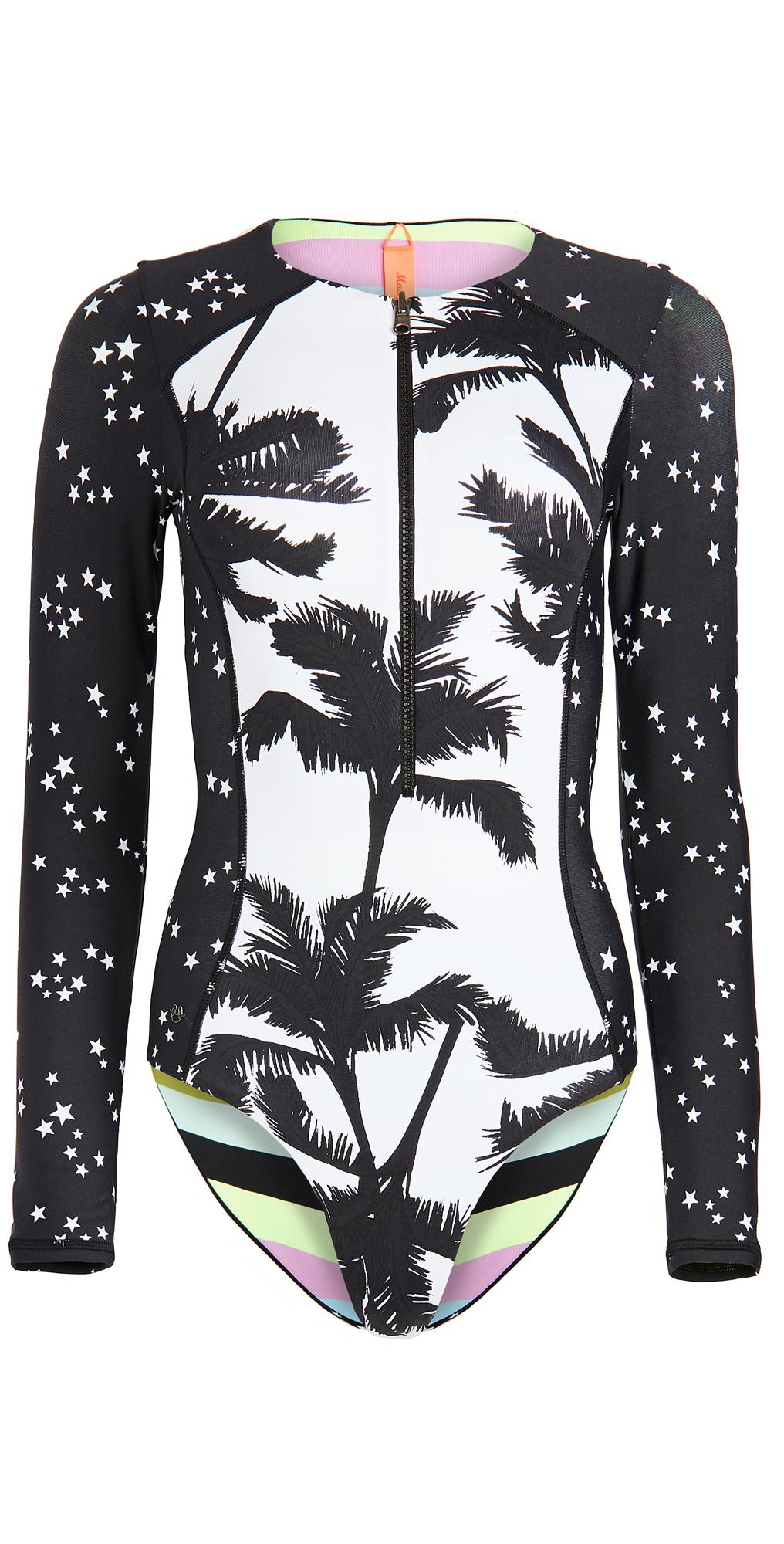 Maaji Cocoa Skies Triton Rash Guard Swimsuit