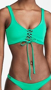 Maaji Grass Green Danzel Bikini Top